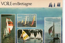 Voiliers Voile En Bretagne 420 En Régate 445 Sous Foc Et Spinnaker - Voiliers