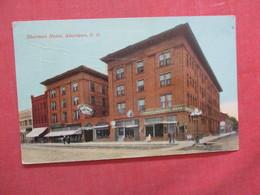 Sherman Hotel - South Dakota > Aberdeen Ref  3865 - Aberdeen