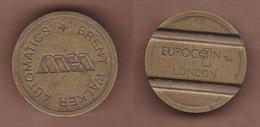 AC -  EUROCOIN LONDON BRENT WALKER AUTOMATICS TOKEN JETON - Monedas/ De Necesidad
