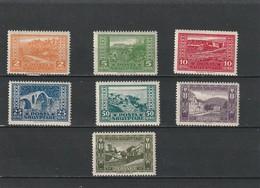 1923 MH Mint Hinged Sc.147-153, Mi. 83-89,   Yv. 120-126      030 - Albania