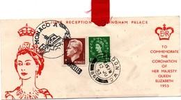 Coronation HM Elizabeth - London WC 12.06.1953 + Monaco + Cancelled - 1952-.... (Elizabeth II)