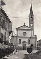 Emilia Romagna - Parma - Roccabianca  - La Chiesa  - F. Grande - Anni 50 - Bella Animata - Italia