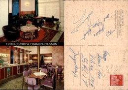 FRANKFURT HOTEL EUROPA,GERMANY POSTCARD - Frankfurt A. Main