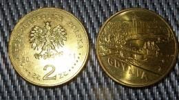 Polish Cities Gdynia - 201 POLAND - 2zł Collectible/Commemorative Coin POLONIA - Poland
