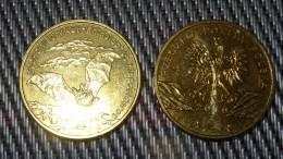 Bat Rhinolophus Hipposideros - 2010 POLAND - 2zł Collectible/Commemorative Coin POLONIA - Poland