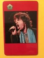 Mick Jagger  ....TRES RARE 250 EXEMPLAIRES ....chanteur Artiste Icône Musique Auteur Compositeur Rolling Stones - Musique