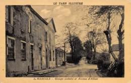 TARN  81  MASSALS  GROUPE SCOLAIRE ET AVENUE D'ALBAN - Otros Municipios