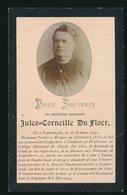 MISSIONARIS SUNDERLAND    JULES DU FLOER  POPERINGE 1840  - ,,, 1904 - Esquela