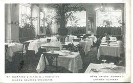 N°2519 T -cpa Paris -restaurant Durand Place De La Madeleine Et Chmps Elysées- - Hotels & Gaststätten