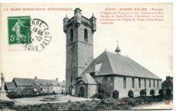 N°2524 T -cpa Saint Pierre- Eglise --la Basse Normandie Pittoresque- - Saint Pierre Eglise