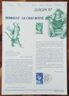 COLLECTION HISTORIQUE - YT N°3058 - EUROPA / PERRAULT / LE CHAT BOTTE - 1997 - 1990-1999