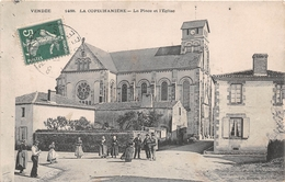 ¤¤  -   LA COPECHANIERE    -  La Place Et L'Eglise     -   ¤¤ - Francia