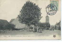 Pont-Aubert-Place De L'Eglise, Arbre De La Liberté - Autres Communes