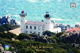 Set 6 Cartes Postales, Phares, Lighthouses Of Europe, France, Sartène, Le Phare De Senetosa - Vuurtorens