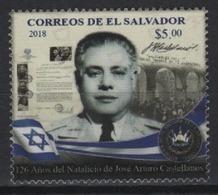 Salvador (2018) - Set -   /   Israel Flag - Jose Arturo Castellanos - Salvador