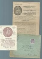 TYPE BLANC PREO YVERT N° 43 SUR LAC Contenant Mailing Complet Du Noviciat De Brugelette ( Belgique) LL17004 - 1900-29 Blanc
