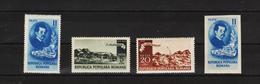 1950 - ION ANDREESCU Mi No 1201/1204  MNH - Ungebraucht