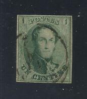 Belgique : N° 9 Oblitéré (très Bel Exemplaire) - 1858-1862 Medallions (9/12)