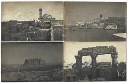 SYRIE - Lot De 4 Photos 13,7 X 9 Cm Des Années 1920 - Lattaquié, Sahyoun - Non Classés
