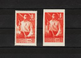1950 - Commemoration Du 1 Mai  Mi No 1208/1209  MNH - Ungebraucht