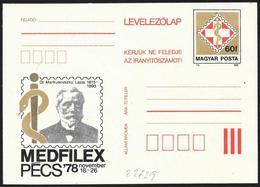 Ungheria/Hungary/Hongrie: Intero, Stationery, Entier, Lajos Markusovszky - Medicina