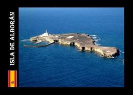 Alboran Island Aerial View North Africa New Postcard - Spain