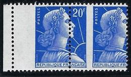 France - Thématique Marianne De Muller - N° 1011B ** - TTB - Variété -> Piquage à Cheval Marqué - Variétés Et Curiosités