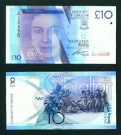 GIBRALTAR - 2010 £10 UNC Banknote - Gibraltar