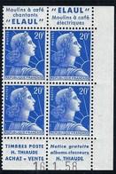 France - Thématique Marianne De Muller - N° 1011B ** - Timbre Publicitaire - TTB - ELAUL - COIN DATÉ - Publicités