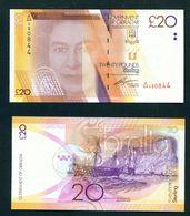 GIBRALTAR - 2011 £20 UNC Banknote - Gibraltar