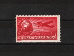 1950 - Serie Courante / Embleme De La Republique Et Avion Yv No 56 Et Mi No 1225 - 1948-.... Republiken
