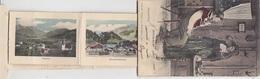 Saanenthal - Leporello-Karte Mit 12 Bildli Handcol. -1908       (P-209-90223) - BE Berne