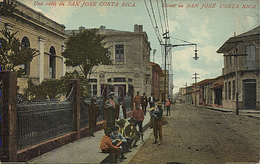 X121919 COSTA RICA UNA CALLE EN SAN JOSE - Costa Rica