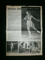 KUNSTSCHAATSEN: Barbara Ann SCOTT - Documenti Storici