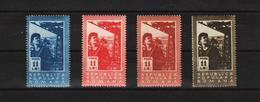 1950 - 2 Anniv. De La Nationnnalison Mi No 1229/1232 Et Yv No 1117/1120 MNH - Ungebraucht