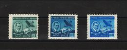 1950 - AUREL VLAICU Mi No 1233/1235  MNH - Ungebraucht