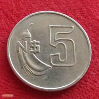 Uruguay 5 Pesos 1981 KM# 75  Uruguai - Uruguay