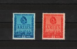 1950 - 3 Congres A.R.L.U.S.  Mi 1240/1241 Et Yv 1133/1134 MNH - Ungebraucht