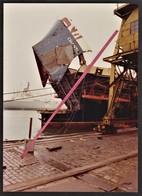"""LE HAVRE -- Photo Originale S.S """"Chantilly"""" Réparation Paquebot Compagnie Des Messageries Maritimes _ Marine Marchande - Bateaux"""