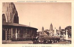 PARIS. Exposition Coloniale 1931. Pavillon De L'A.E.F. Façade Latérale. - France
