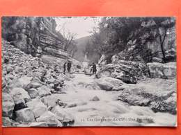 Cpa (04) Grasse. Les Gorges Du Loup. Une Passerelle.(L137) - Grasse