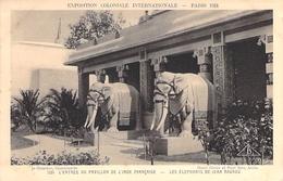 PARIS. Exposition Coloniale 1931. L'entrée Du  Pavillon De L'Inde Française . - Francia