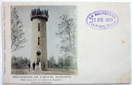 BELVÉDÈRE DE L'HÔTEL ENFONCÉ - ROUTE DES FEUILLÉES - VAL D'AJOL - France