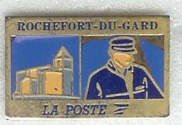 @@ La Poste PTT Le Facteur De ROCHEFORT DU GARD @@po70a - Postwesen