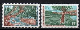 S.P.M. - YT N° 385-386 - Neufs ** - MNH - Cote: 10,70 € - St.Pierre Et Miquelon