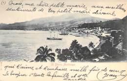 MARTINIQUE - ST PIERRE : Vue Générale - CPA Précurseur - Antilles West Indies Caribbean Caraïbes Karibik Caribe Caraibi - Martinique