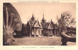 PARIS. Exposition Coloniale 1931. Section Indochine. Pavillon Du Cambodge . - Francia