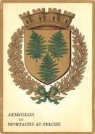 61-MORTAGNE AU PERCHE-ARMOIRIES-N°532-A/0363 - Mortagne Au Perche