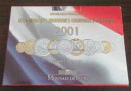 France - Coffret BU Brillant Universel Monnaie De Paris - Les Derniers Francs - Année 2001 - France