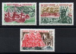 S.P.M. - YT N° 395 à 397 - Neufs ** - MNH - Cote: 92,00 € - St.Pierre Et Miquelon